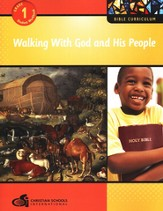 Walking with God and His People Grade 1 Student Workbook