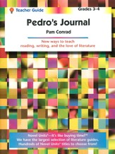 Pedro's Journal, Novel Units Teacher's Guide, Grades 3-4