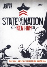 State of the Nation with Ken Ham:     The Collapse of Christian America, DVD