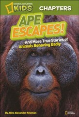National Geographic Kids Chapter Book: Ape Escapes
