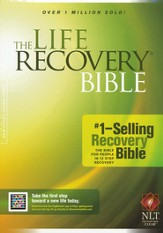 NLT Life Recovery Bible, Softcover, Case of 10