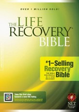 NLT Life Recovery Bible - Hardcover  - Slightly Imperfect