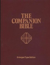 KJV Companion Bible, Hardcover, Enlarged print edition - Slightly Imperfect