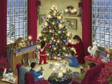 Christmas at Home 504 Piece Puzzle