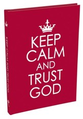 Keep Calm and Trust God Gift Book