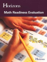 Horizons Math Readiness Evaluation Test