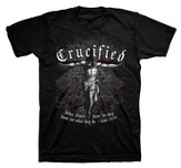 Crucified Shirt, Black, Large