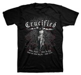 Crucified Shirt, Black, X-Large