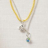 Mustard Seed Angel Necklace