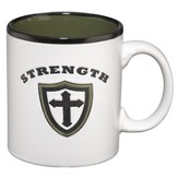 Strength Mug, White