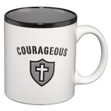 Courageous Mug, White