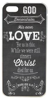 God Demonstrates His Own Love, iPhone Cover