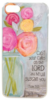 Cast Your Cares On the Lord, iPhone Cover