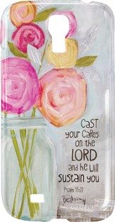Cast Your Cares On the Lord, Smartphone Cover