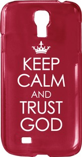 Keep Calm and Trust God, Smartphone Cover