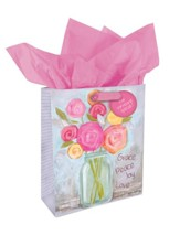 Grace Peace Joy Love Gift Bag, Medium