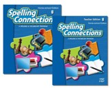 Zaner-Bloser Spelling Connections Grade 8: Student & Teacher Editions (Homeschool Bundle)