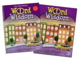 Zaner-Bloser Word Wisdom Grade 8: Student & Teacher Editions (Homeschool Bundle)