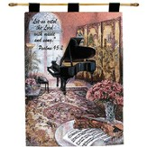 Let Us Extol the Lord With Music Wallhanging
