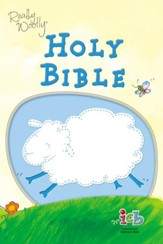 ICB Really Woolly Holy Bible--imitation leather, blue (slightly imperfect)