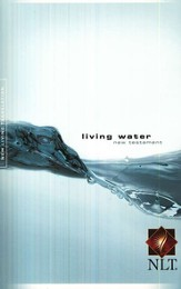 NLT Living Water New Testament - softcover