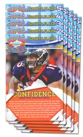 Breaking Free Sports Flash, Pack of 5 - Slightly Imperfect