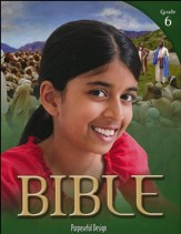 ACSI Bible Grade 6 Student Book, Revised Edition
