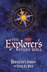 NKJV The Explorer's Study Bible  - Imperfectly Imprinted Bibles