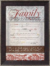 Family Promise Framed Print
