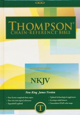 NKJV Thompson Chain-Reference Bible, Hardcover, Thumb Indexed