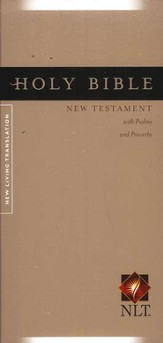 NLT Pocket Thinline New Testament with Psalms & Proverbs - Softcover ed. - Slightly Imperfect