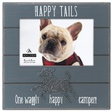 Happy Tails, Happy Camper Photo Frame, Dog