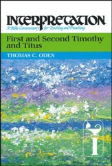 1st & 2nd Timothy and Titus, Interpretation Commentary