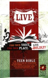 Live NLT, Softcover