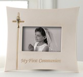 My First Communion Photo Frame, Holds 3 x 5 Photo