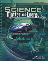 Science: Matter and Energy Teacher Edition