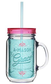 How Cool! Mason Jars with Straw