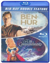 Ben Hur/Ten Commandments, Double Feature Blu-ray