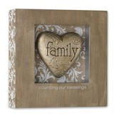 Family Heart Shadow Box