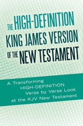 The High-Definition King James Version of the New Testament: An HD Look at the KJV of the Bible - eBook