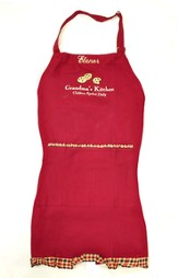 Personalized, Grandma's Kitchen Apron