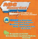 ABC Memory Cards pack of 25 Salvation