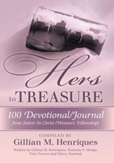HERS TO TREASURE: 100 Devotional/Journal from Sisters in Christ (Women's Fellowship) - eBook