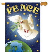 Peace Dove Flag, Large