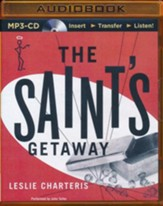 The Saint's Getaway - unabridged audio book on CD