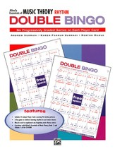 Essentials of Music Theory, Rhythm Double Bingo Game
