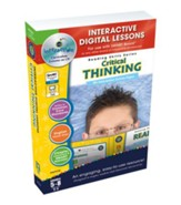 Critical Thinking Interactive Digital Lessons on CD-ROM Grades 5-8