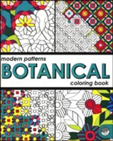 Modern Patterns: Botanical Coloring Book