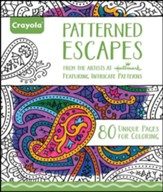 Patterned Escapes Coloring Book for Adults