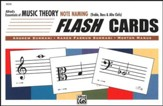 Essentials of Music Theory, Note Naming Flash Cards